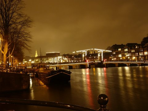 Amsterdam by night Magere brug